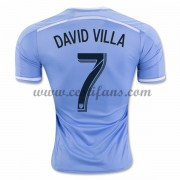 New York City Fotbalové Dresy 2016-17 David Villa 7 Domáci Dres..