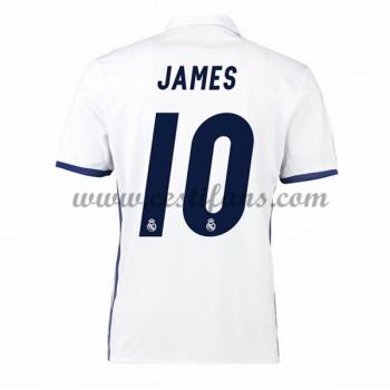 Real Madrid Fotbalové Dresy 2016-17 James 10 Domáci Dres