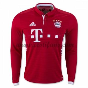 Bayern Munich Fotbalové Dresy 2016-17 Domáci Dres Dlouhým Rukávem