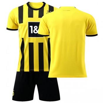 BVB Borussia Dortmund Dětské Fotbalové Dresy Komplet 2018-19 Domáci Dres