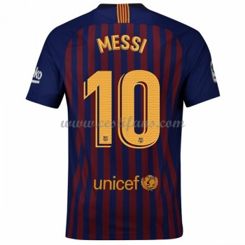 Barcelona Fotbalové Dresy 2018-19 Lionel Messi 10 Domáci Dres