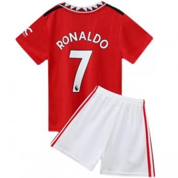 Juventus Dětské Fotbalové Dresy Komplet 2018-19 Cristiano Ronaldo 7 Domáci Dres