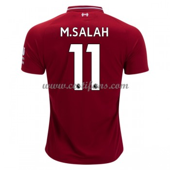 Liverpool Fotbalové Dresy 2018-19 Mohamed Salah 11 Domáci Dres