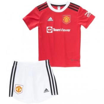 Manchester United Dětské Fotbalové Dresy Komplet 2018-19 Domáci Dres