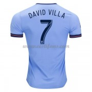 New York City Fotbalové Dresy 2017-18 David Villa 7 Domáci Dres..