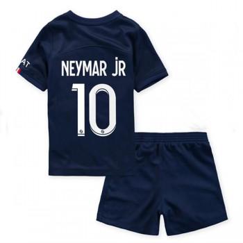 Paris Saint Germain PSG Dětské Fotbalové Dresy Komplet 2018-19 Neymar Jr 10 Domáci Dres
